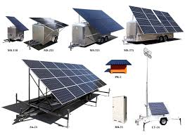 Mobile Pv Generator Ablaze Green Energy Solutions