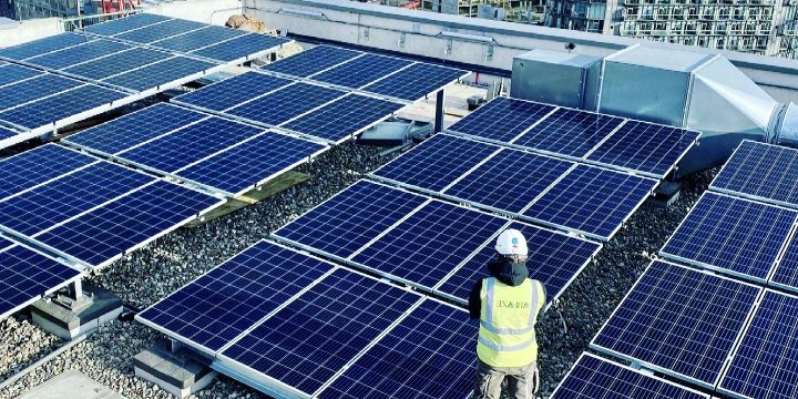 Solar PV Flat Roof